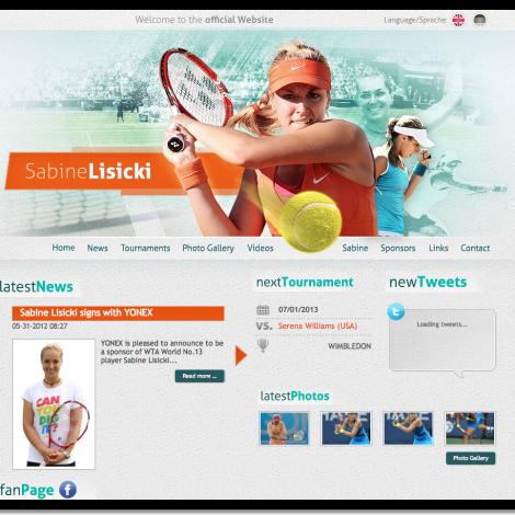 Sabine Lisicki - Official Website