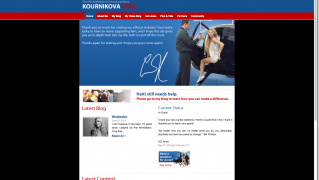 The Official Website of Anna Kournikova