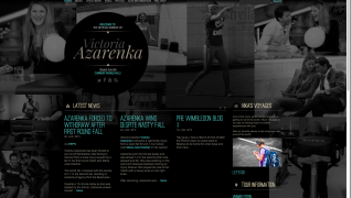 Vika Azarenka   Official Website