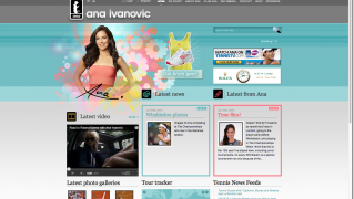 The Ana Ivanovic official website