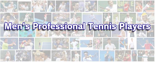 男子プロテニス選手一覧(データベース)
