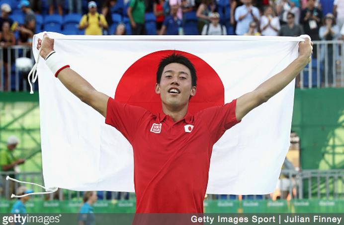 錦織圭、R・ナダルを制し、銅メダル。日本勢96年ぶりのメダル獲得の偉業を達成!(リオ・オリンピック)